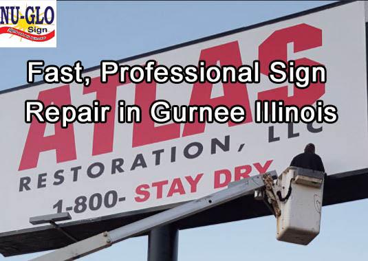 Outdoor Signs - Gurnee - Fast Sign Repair