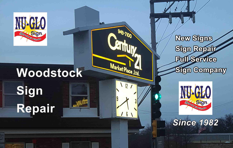 Electric Sign Repair - Woodstock Illinois