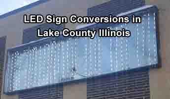 LED Backlight Sign Conversions - Lake County
