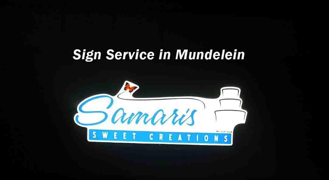 Sign Service in Mundelein
