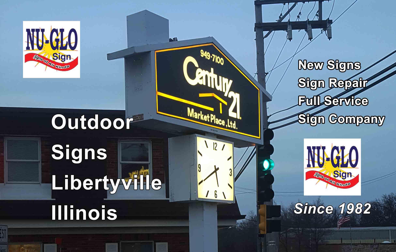 Outdoor Signs - Libertyville Illinois