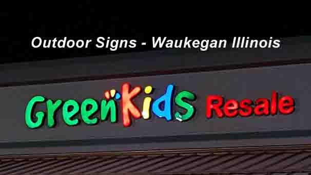 Exterior Signs - Waukegan - New Signs