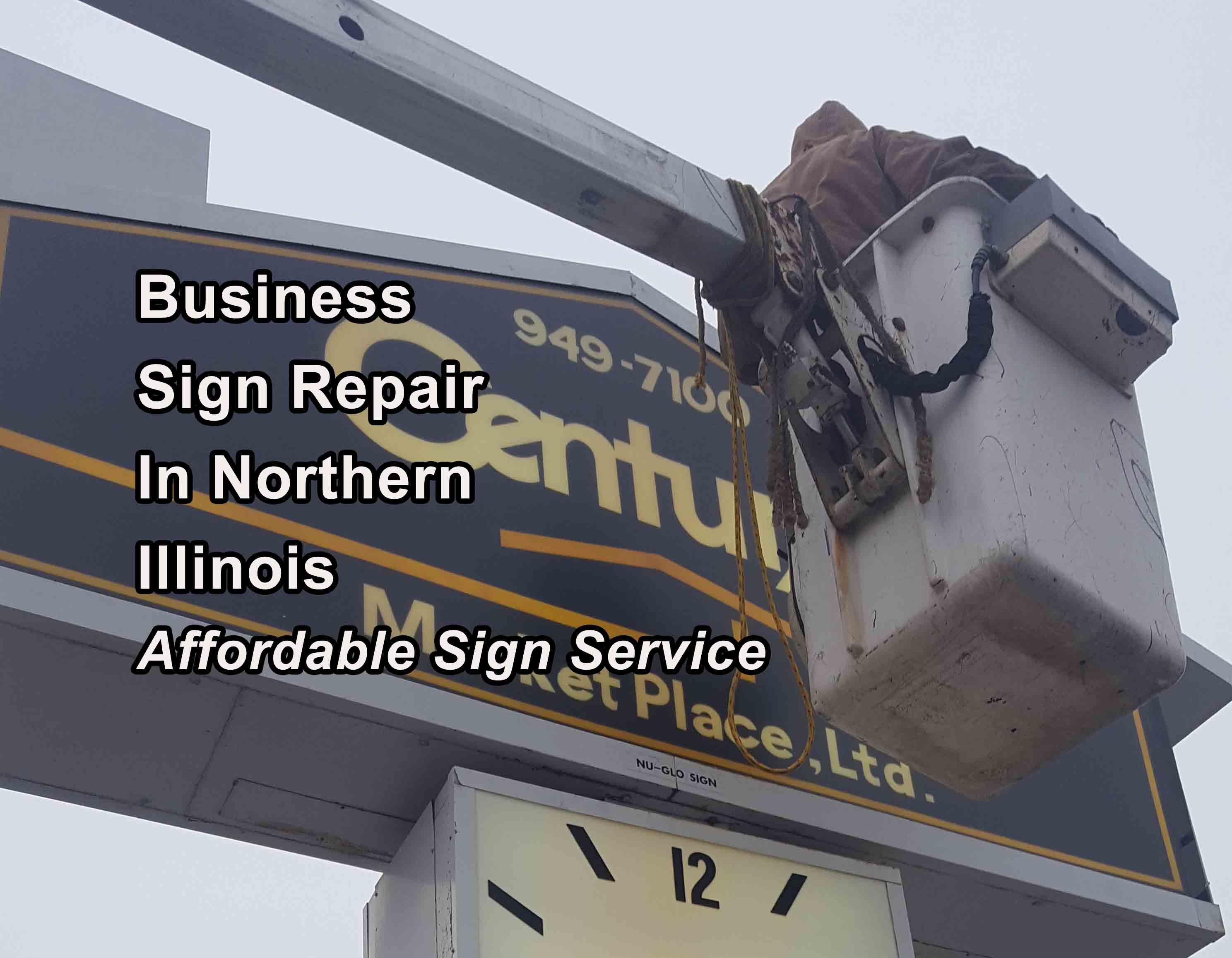 Exterior Sign Repair - Lake County