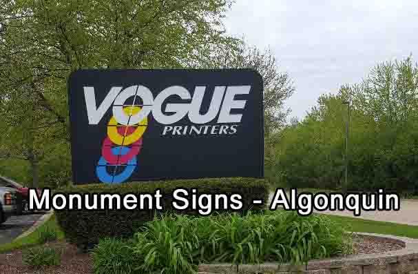 Monument Signs Algonquin IL