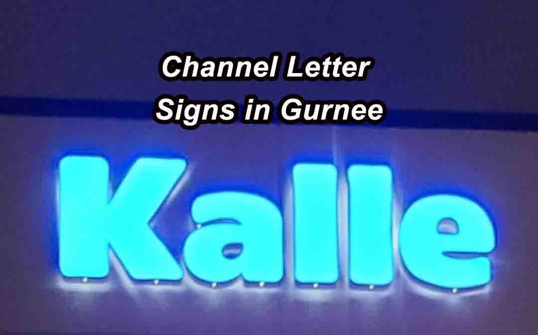 Channel Letter Signs in Gurnee