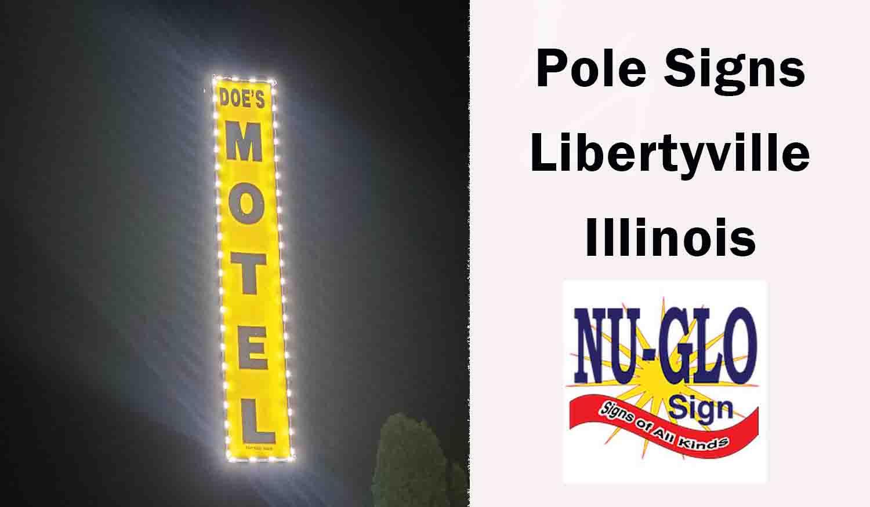 pole signs libertyville illinois Feature