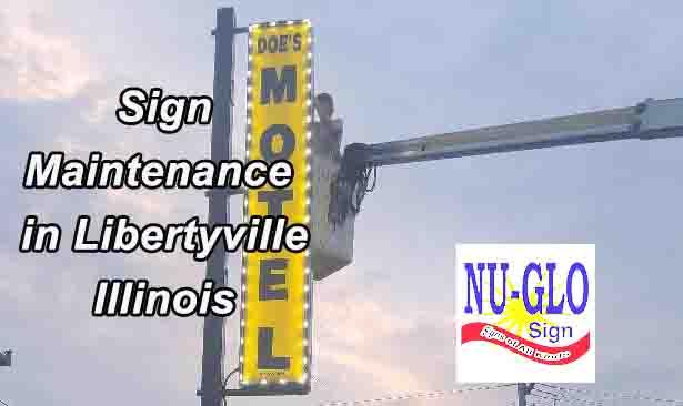 sign maintenance Libertyville il