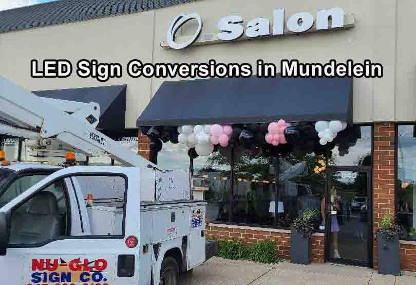 LED Sign Conversions - Mundelein